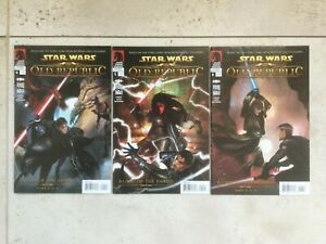 Star Wars Dark Horse The Old Republic Blood of the Empire Full set #4 #5 #6