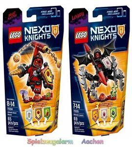 LEGO-NEXO-KNIGHTS-Super-Set-70334-70335-Monster-Meister-Lavaria-N1-16