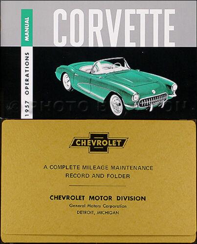 informafutbol.com Automotive Manuals & Literature 1957 Corvette ...