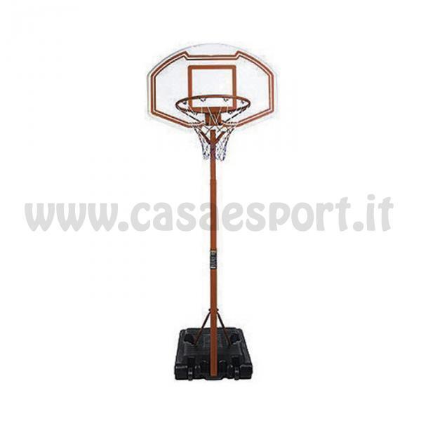 Piantana sport minibasket CORSPORT + Pallone pallacanestro palla canestro sport Piantana 4ac079