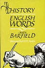 History in English Words by Owen Barfield (Paperback, 1998)