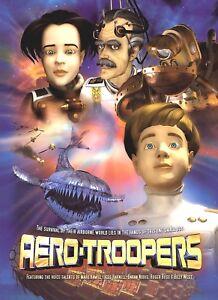 Aero-Troopers-DVD-2004-Mark-Hamill-Billy-West-Jess-Harnell-MINT