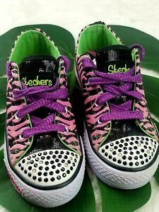 Toe Light Up Girls Shoes Size 12.5