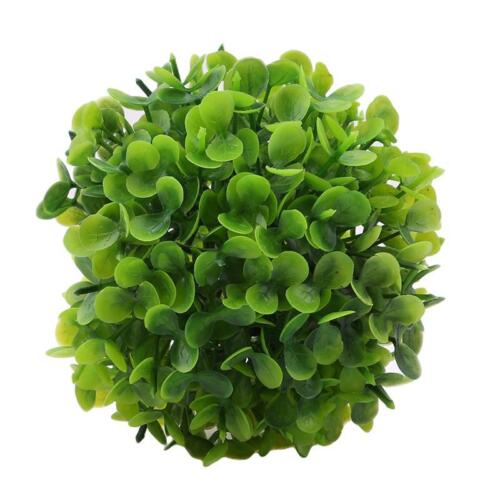 Artificial Topiary Tree /& Ball Flowers Buxus Boxwood Plants in Pot Garden CF