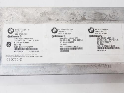 BMW E87 E90 E61 F01 E84 E70 E89 Telematics Control Unit TCU Bluetooth 9177754
