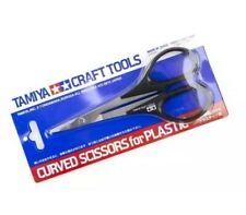 Tamiya Craft Tools Curved Scissors für Kunststoff 74005-1000 Neu OVP DE Stock