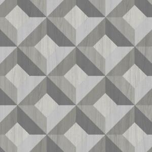 Ck36617 Kitchen Style 3 Geometric Diamond Grey Black Galerie