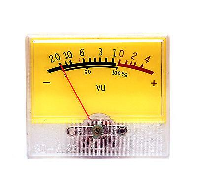 2pc Panel Meter SD-312C 55x47mm VU -20~+4dB DCR=630Ω If=500uA SD FlashStar