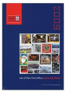 Isle-Of-Man-2009-Stamps-Year-Book-Album-Complete-Collection-All-Mint-MUH