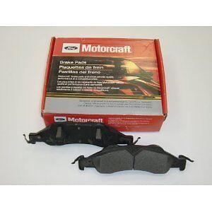 OEM MOTORCRAFT FRONT BRAKE PADS FOR 2005-2010 MUSTANG BASE//GT 5U2Z-2V001-E