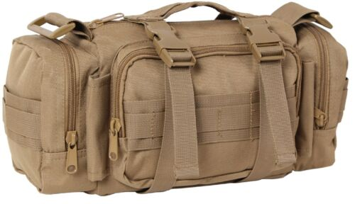 Coyote Military Tactical Convertipack Shoulder Style Duffle Waist Pack Bag 23620