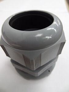 5 X M50 X 1.5 Plástico//Nylon Pasahilos Con Brida Tuerca de fijación IP68 5 Bar 50mm