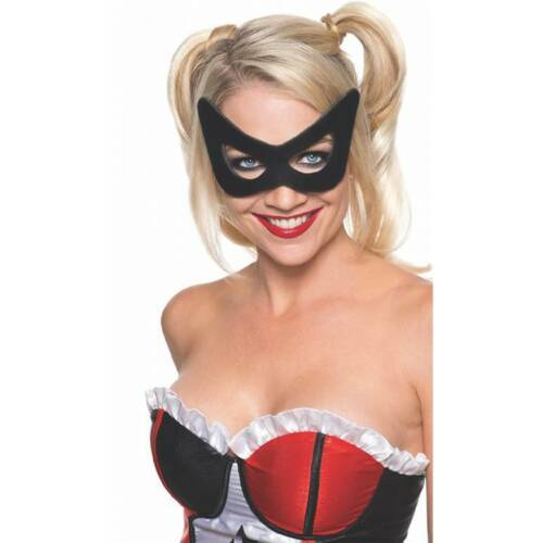 Official Harley Quinn BLACK MASK Suicide Squad Ladies Fancy Dress Accessory