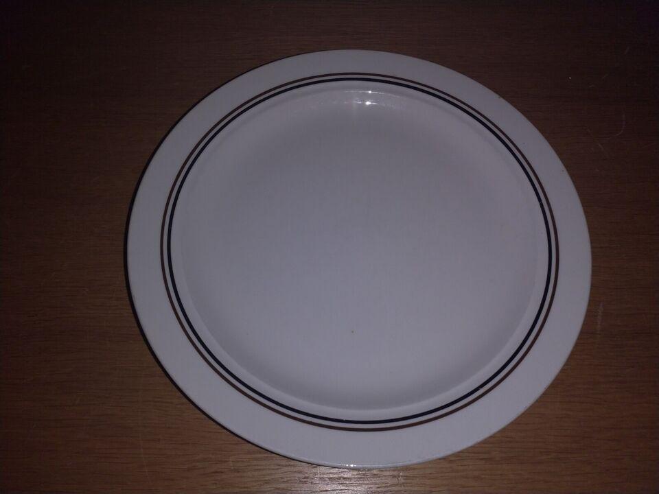 Porcelæn, Rörstrand tallerken, Rörstrand