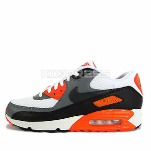 ae1de4cd115f Nike Air Max 90 Essential  537384-128  NSW Running White Cool Grey ...