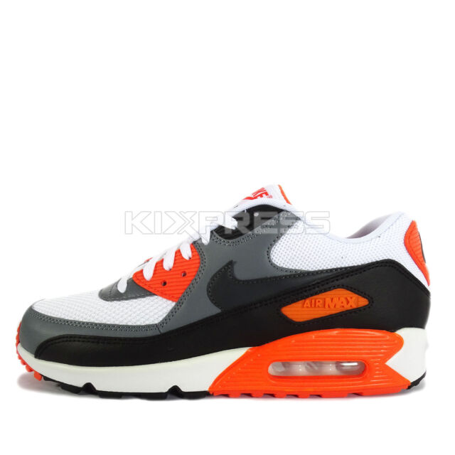 new arrival f033b 6e8e7 Nike Air Max 90 Essential  537384-128  NSW Running White Cool Grey