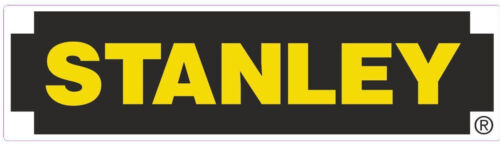 STANLEY tools motorsport sponsor stickers toolbox workshop decals car van truck