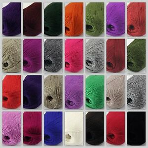 6Balls x 50g Chunky DIY Needle crafts Hand-Woven Knitting Scores Wool Yarn 28