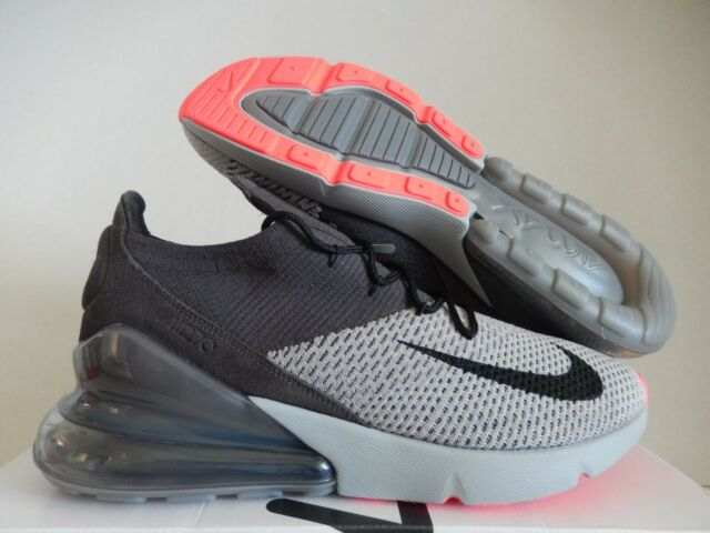 Nike Air Max 270 Flyknit Atmosphere Grey Thunder Grey Ao1023 004 Size 13