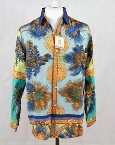 AgréAble Vintage Années 1990 Chemise Manches Longues Non Porté Taille M 157 P