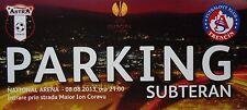 TICKET Parking UEFA EL 2013/14 Astra Giurgiu - FK Trencin