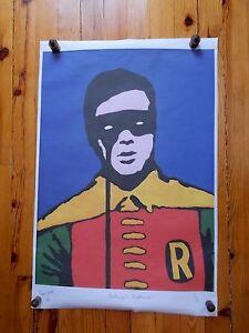 034-Batman-039-s-Nightmare-034-Rare-Gravure-du-Dessinateur-et-Humoriste-Anglais-Kes