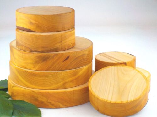 "2/"" 50mm Wild Cherry wood turning bowl blanks thick."