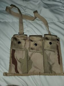Molle-II-Nylon-Camo-Bandoleer-Ammunition-Pouch-W-Strap-Desert-DCU