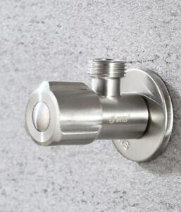 Hot Stainless Steel 304 Shut Off Water Angle Stop Valve for Faucet and Toilet