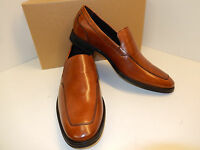 Cole Haan Adams C12375 British Tan Leather Venetian Style Dress Loafers-new