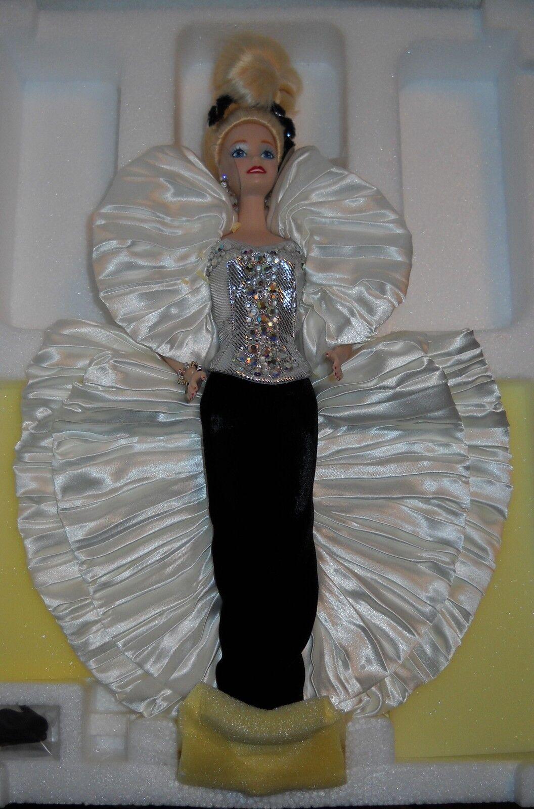 Nunca quitado de la Caja Mattel Colección presidencial Cristal Rhapsody muñeca Barbie de porcelana