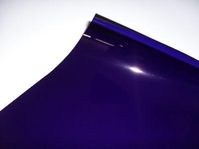 4 X 181 CONGO BLUE LIGHTING FILTER GEL STAGE THEATRE DJ DISCO 24cm X 24cm PAR 64