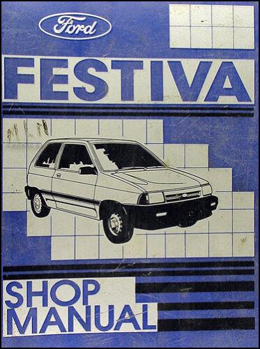 1989 Ford Festiva Original Repair Shop Manual 89 L L Plus LX OEM Service Book