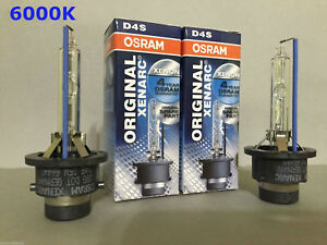 2PCS NEW OSRAM XENARC D4S 66440 6000K OEM HID XENON LIGHT BULBS SET
