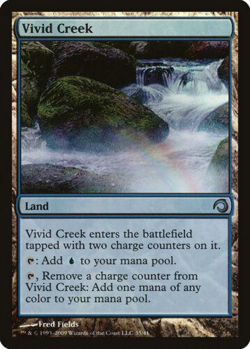 Slivers NM Land Uncommon MTG CARD ABUGames Vivid Creek FOIL Premium Deck Series
