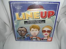 lineup the memory game of quick looks & tricky crooks  new and sealed 2010