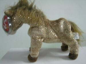 """New TY Filly the Horse Beanie Baby with Tags.  6 - 7"""""""