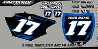 Yamaha Ttr 110 Pre Printed Number Plate Backgrounds Bolt Series