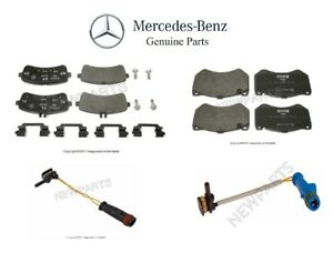 For Mercedes W222 C217 A217 S63 AMG S65 AMG Turbo Front Brake Pad Set Genuine