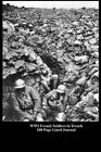 Wwi French Soldiers in Trench 100 Page Lined Journal: Blank 100 Page Lined Journal for Your Thoughts, Ideas, and Inspiration. by Unique Journal (Paperback / softback, 2014)