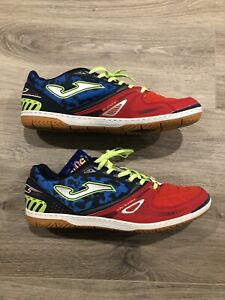 Joma-Sala-Max-716-Navy-amp-Red-Indoor-Soccer-Shoes-Mens-10-5-80-Off-NEW