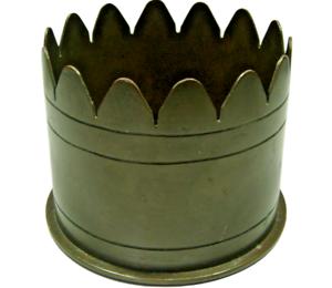 WWI-Artillery-Shell-Trench-Art-Ashtray-Bowl-Pot-Pen-Pencil-Holder-M-14-Howitzer