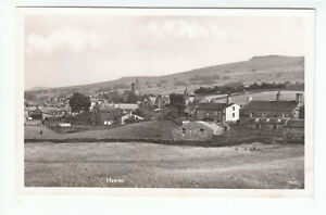 Hawes-Village-Wensleydale-Yorkshire-Real-Photograph-4-Aug-1950-Atkinson-Pollitt