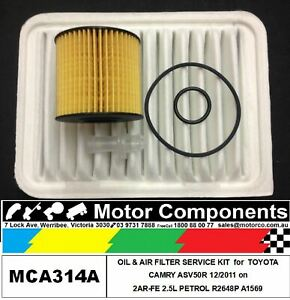 FILTER-SERVICE-KIT-Air-Oil-for-TOYOTA-CAMRY-ASV50R-2AR-FE-2-5L-PETROL-2011-gt