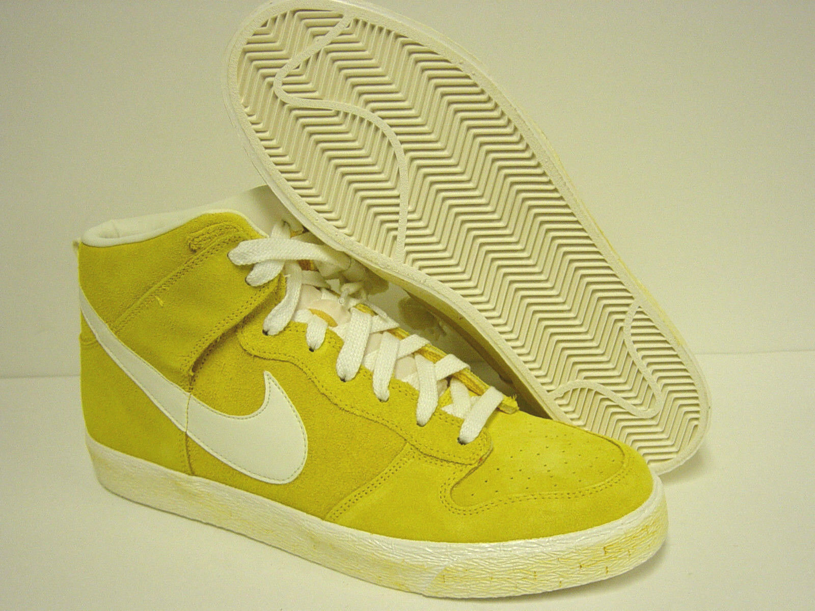 b292ca5d524 NEW Mens NIKE DUNK High AC AC AC 398263 700 MAIZE Yellow Sneakers Shoes  Deadstock Rare