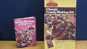 Chocolate Mould Set Aesthetic Appearance Retro Vintage Wilton Candymaker Classic Candy Making Kit Baking Accs. & Cake Decorating