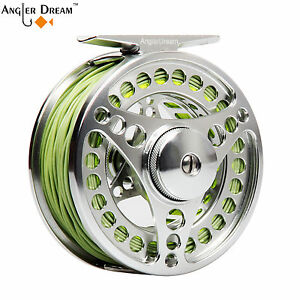 3-4-5-6-7-8-9-10WT-Fly-Fishing-Combo-CNC-Machined-Fly-Reel-Fly-Line-Backing