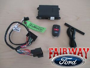 14 to 19 Fusion OEM Genuine Ford Security System w/ Bi-Directional Remote Start