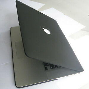 hot sale online 64f04 f2a18 Details about Matte Black Hard Case Cover Clip Housing Protector fr Apple  MacBook Pro 15 A1398