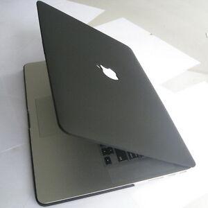 hot sale online 20f77 23fb3 Details about Matte Black Hard Case Cover Clip Housing Protector fr Apple  MacBook Pro 15 A1398